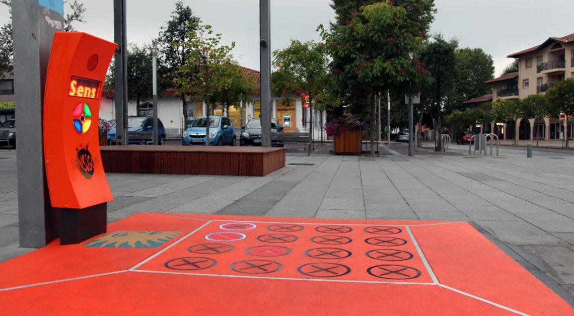 Jeux et sols interactifs